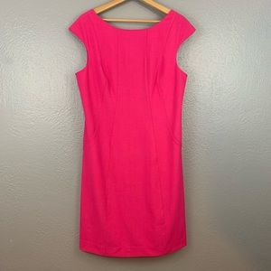 Vince Camino Pink Exposed Zipper Shift Dress